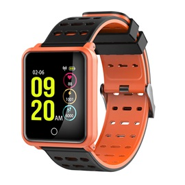 N88 Bluetooth Smartwatch IP68 Waterproof Heart Rate Blood Pressure Monitor Pedometer for IOS Andriod