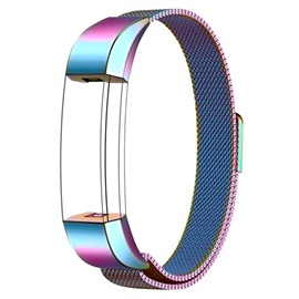 Metal Bands Milanese Stainless Steel Replacement Accessories for Fitbit Alta HR