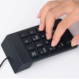USB Keypad Mini Number Keyboard