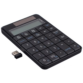 Wireless 2.4G Digital Mini USB Keypad/Keyboard with Display Calculator