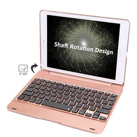 For Apple iPad/iPad Air 2 9.7 inch ABS Plastic Alloy Metel Ultrathin Keyboard Dock Cover Case