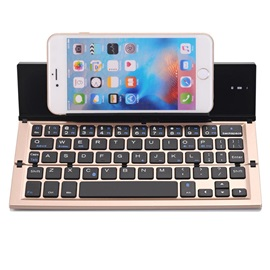 Mini Folding Bluetooth Keyboard with Stand Universal for IOS Windows Android