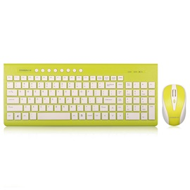 Cheap CS6 Colorful Wireless Keyboard & Mouse Combo