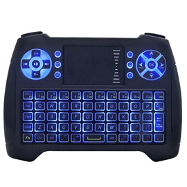 T16 Mini Wireless Keyboard/Touchpad/Air Mouse with Backlit for PS3/Xbox/IP TV/PC