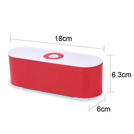 Mini S207 Bluetooth Speaker Portable Wireless Stereo Audio Receiver Mp3 Player With TF Card FM Radio Altavoz for Smartphones PC