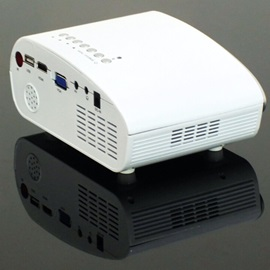 Latest K10 & Mini Projector HD 1080P Mini Phone Connector LED Projector HDMI Home Media Player Portable Intelligent Video Games