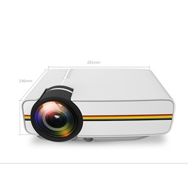AAO YG400 1080P Video LED LCD Wired Projector Home Cinema Theater