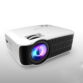 T22 Portable Projector 1080P 100-inch LCD Screen Home/Outdoor Multimedia Theater