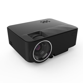 T21 Portable Projector 1080P 1500 Lumens 100-inch LCD Screen Home Theater