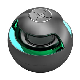 AJ-69 Mini Portable Bluetooth Speakers 2.1 EDR Subwoofer Handsfree Speaker with Colorful Light for IOS Android