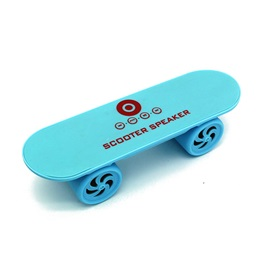 Partable Skateboard Shape of Bluetooth Stereo Speaker