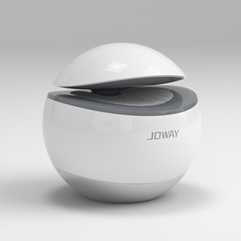 JOWAY Portable Bluetooth Speaker with Touch-pad Support Voice Remind