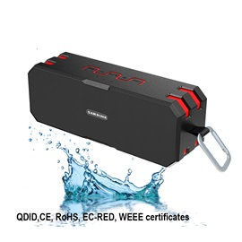 SARDiNE Portable Waterproof Wireless Bluetooth Speaker with IP65