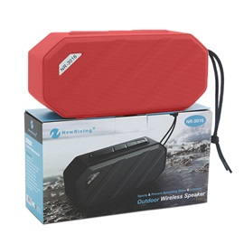 NewRixing Portable Wireless Bluetooth Speaker Support Waterproof