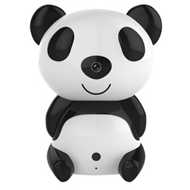 FI-320W Panda Shape IP Camera Cute Style WiFi Home Security Camera