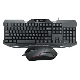 LIMEIDE Waterproof USB Wired Keyboard & Mouse Combo