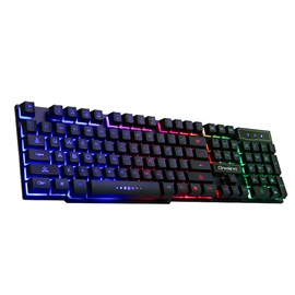 V8 Wired Mechanical Keyboard with 104 Keys & Back LED Light Support Waterproof