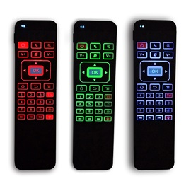 Portable MX3 Air Wireless Mouse 2.4G 6-axis with 3 Colors Backlit