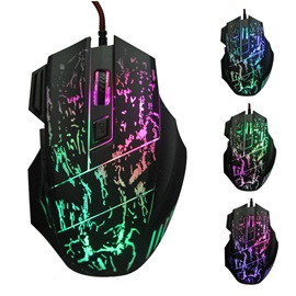 K1012B Gaming Mouse,USB Wired Backlight Mice for PC/Laptop