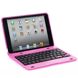 F1 Wireless Bluetooth Keyboard with Protective Case for IPad Mini 1/2/3