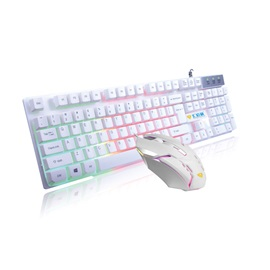 USB Wired Keyboard & Mouse Combo Gaming Keyboards Support Backlight