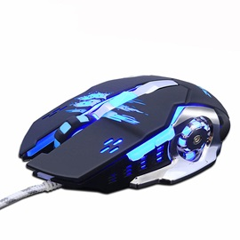 ZUOYA Wired Mouse with 6-button 3200 Dpi