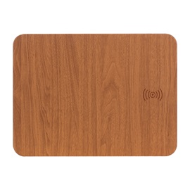 KINGSOIL Wooden Wireless Changer QI Changing Pad and Mouse Pad Combination