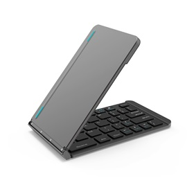 F88 for ios, android, Windows 3 universal aluminum alloy two-fold bluetooth keyboard