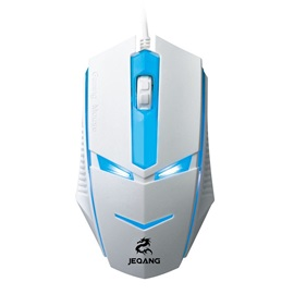 Transformers Backlight 1600DPI Three Buttons Wired USB Interface Mouse