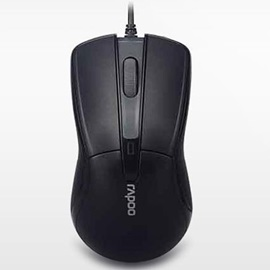 Rapoo N1162 Wired Mouse 1000DPI Gaming Mouse Optical USB Mice Computer Mouse