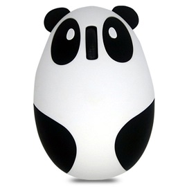 Newest Cartoon Panda Pattern Bluetooth Mouse 2.4G 1200 DPI Wireless Mouse