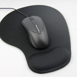 KXUAN Mouse Pad,Colorful Gaming Mouse Mat with Gel Wrist Support