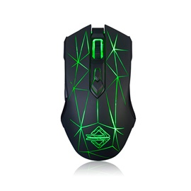 Ajazz AJ52 7 Keys Wire-control Mouse with LED Light
