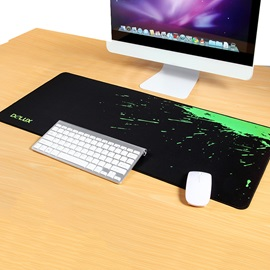 DeLUX GT Mouse Pad with Smooth Surface for Precise Control