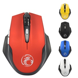 IMICE E1900 Wireless Mice 2.4G 1600Dpi with 6 Buttons