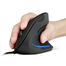 Ergonomic Optical USB Wired Vertical Mouse 1000DPI with 6 Buttons