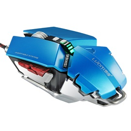 Luom G50 Gaming Mouse Wired 4000 DPI USB Optical Ergonomic Gaming Mouse PC