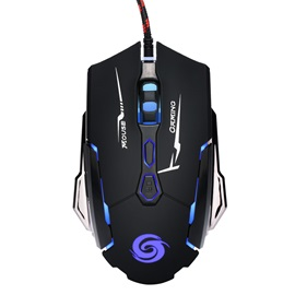 K1015 USB Wired Mouse,Adjustable 4000DPI Optical Gaming Mice