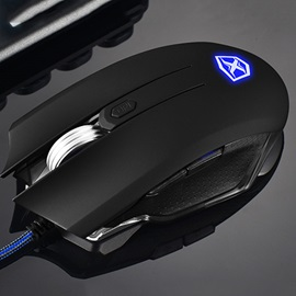 A6 Wired Mouse with 6 Buttons 3500 Dpi