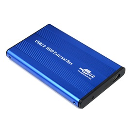 RTX External Hard Drive Disk Enclosure Case USB 2.0 HDD SATA for 2.5-Inch SATA HDD/SSD