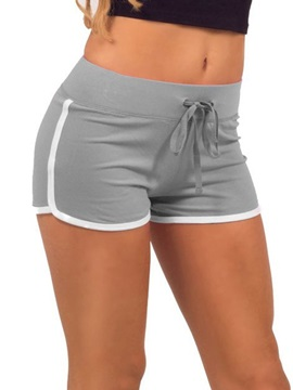 Women's Plus Size Stripe Sports Shorts