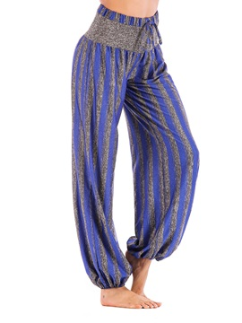 Women's Plus Size Stripe Loose Yoga Pants