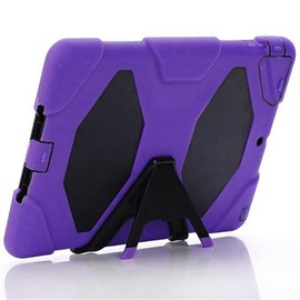 Armor Waterproof Shockproof PC+Silicone Back Cover For Ipad Air