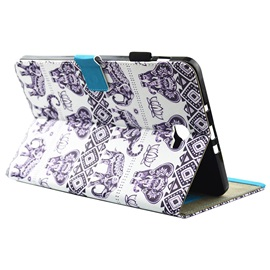 Elephant Pattern Ultra-thin Stand Case for Samsung Galaxy T585/T820 10.1-inch Tablet