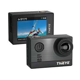 Thieye T5e Wifi Ultra 4K Action Sports Camera,16MP 170 Wide Angle Waterproof Sony Sensor Ambarella Chipset