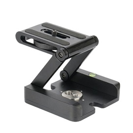 Foldable Desktop Stand Holder Tripod with Quick Release Plate Panoramic Tilt Head for DSLR and Camera Video