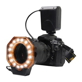 SHOOT SL-103C LED Ring Flash Light for DSLR Camera