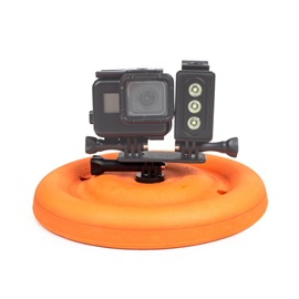 Shoot Frisbee Floating Mount for GoPro Accessories Hero Hero3 Hero4 Hero5