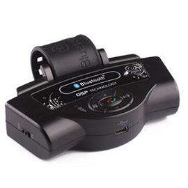 Steering Wheel Car Wireless Bluetooth Handsfree Kit Car Bluetooth Handsfree Speakerphone with Car Charger BT8109B