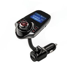 T10 Bluetooth Handsfree FM Transmitter Car Kit MP3 Music Player USB SD Modulator